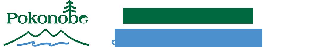 Pokonobe Lodge and Marina Logo